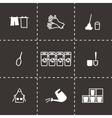 Cleaning icon set vector