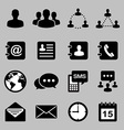 Icon set of business eps 10 vector