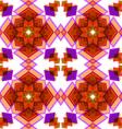 Orange festive christmas star seamless vector