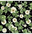 Clover leaves background vector