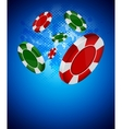 Casino back vector