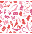 Valentines day and love color pattern eps10 vector