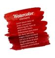 Watercolor design element vector
