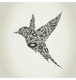 Bird from lips vector