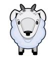 Children cartoon of a sheep vector
