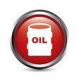 Oil button vector