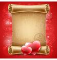 Congratulation on valentines day vector