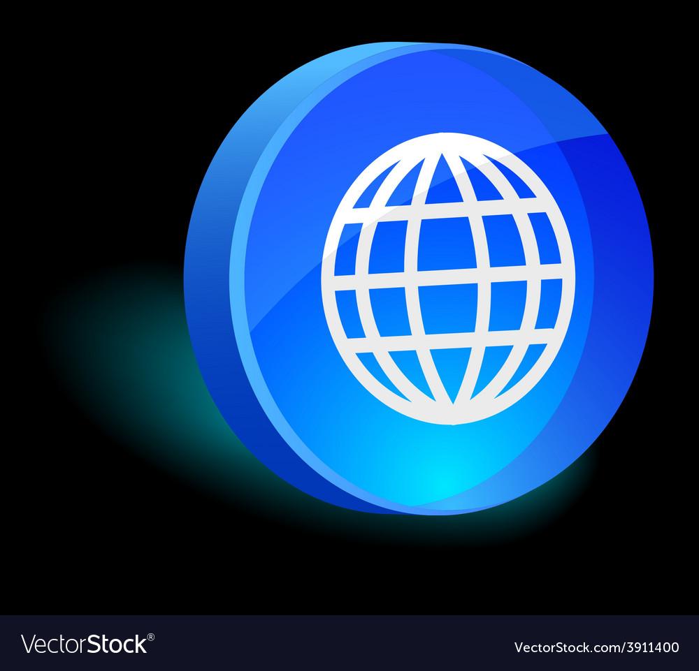 Earth icon vector   Price: 1 Credit (USD $1)