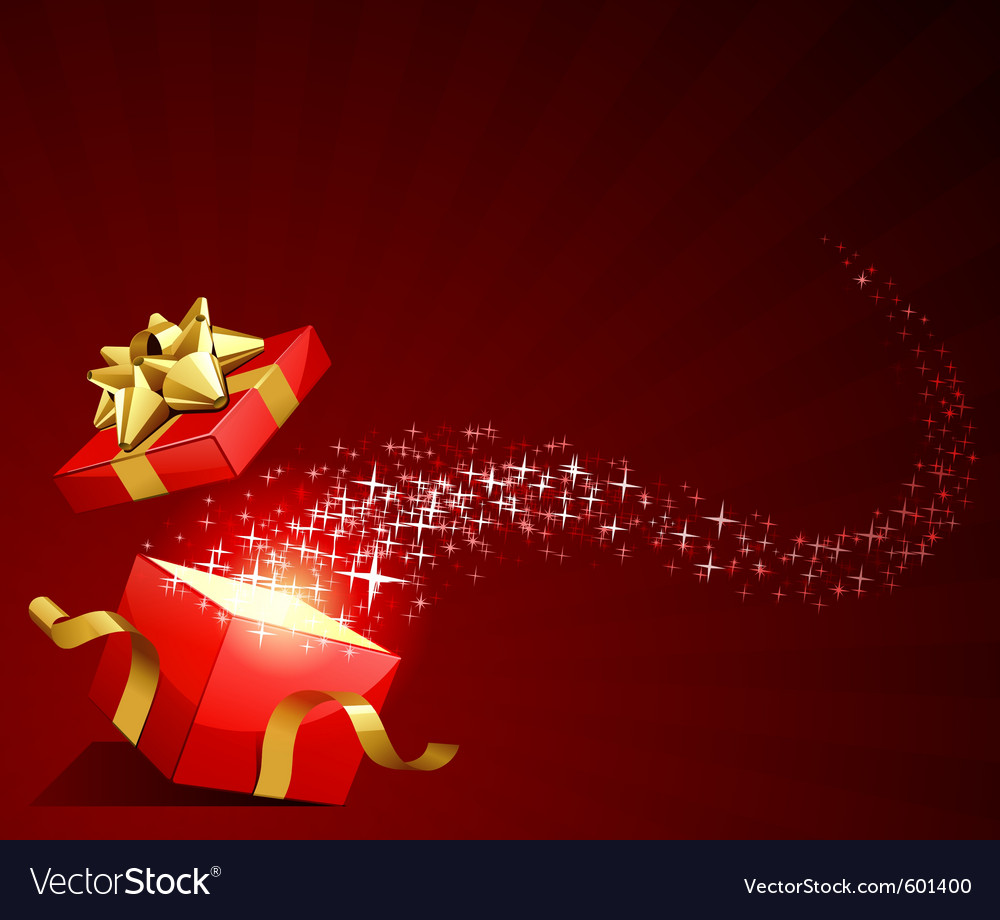Elegant present background vector | Price: 1 Credit (USD $1)