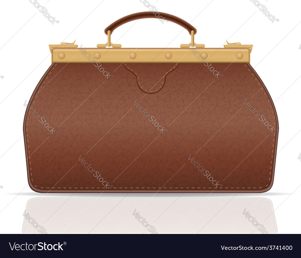 Leather valise travel with constipation 01 vector | Price: 1 Credit (USD $1)