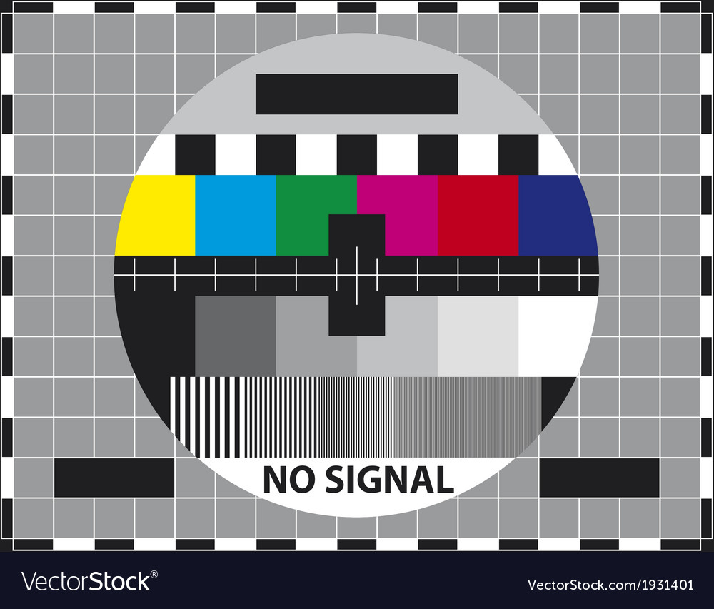 Television test screen vector | Price: 1 Credit (USD $1)