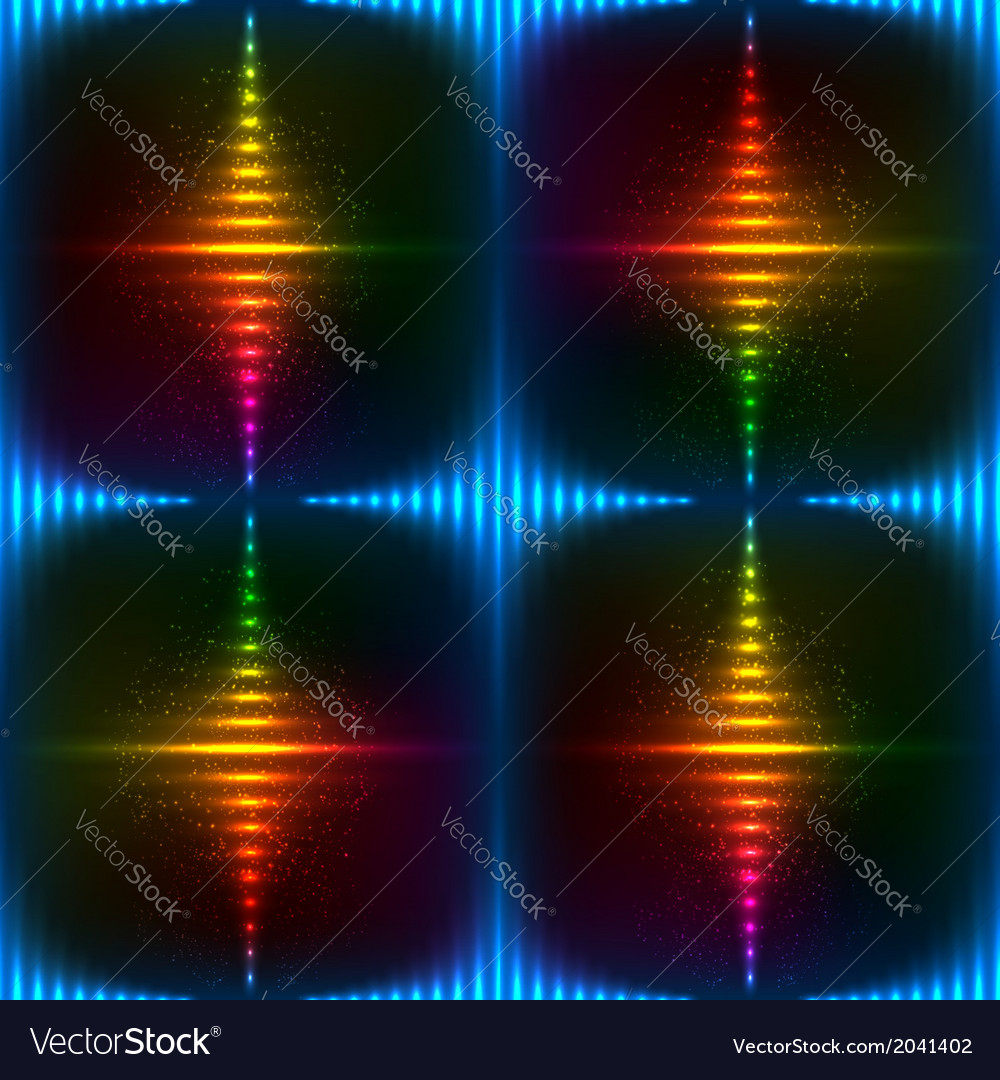 Abstract neon shining background vector | Price: 1 Credit (USD $1)