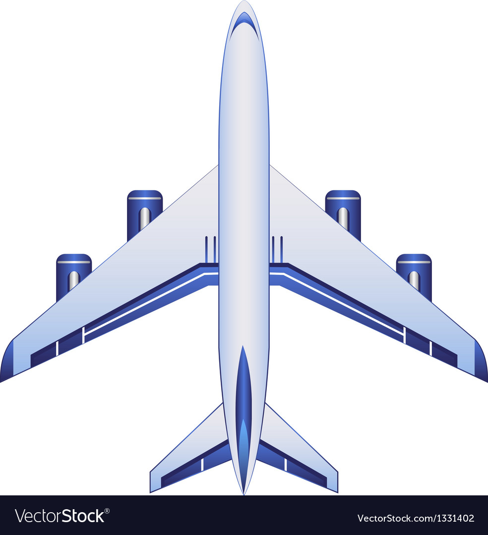 Business airplane vector | Price: 3 Credit (USD $3)