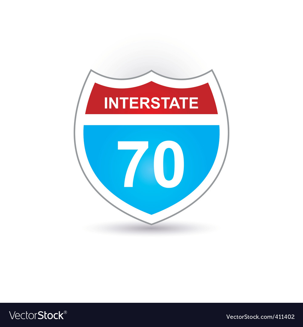 Interstate 70 vector | Price: 1 Credit (USD $1)