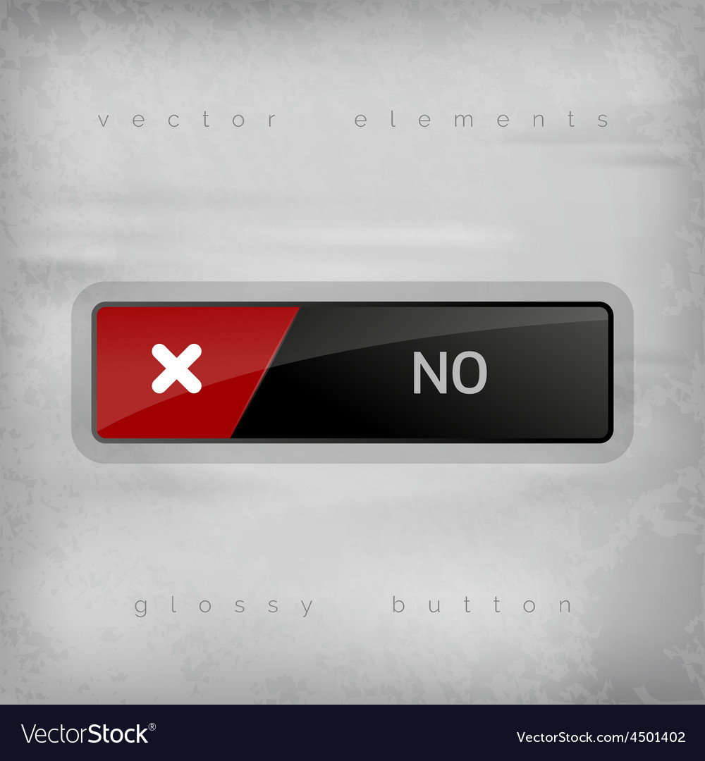 No button vector | Price: 1 Credit (USD $1)