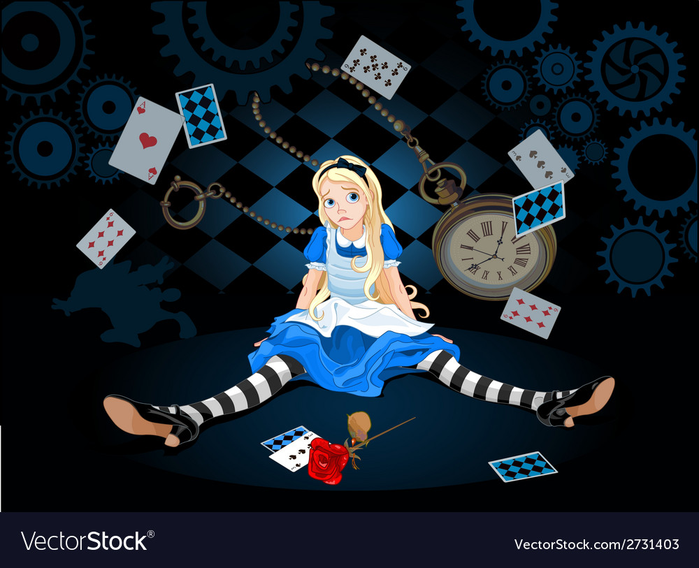 Alice in surprise vector | Price: 3 Credit (USD $3)