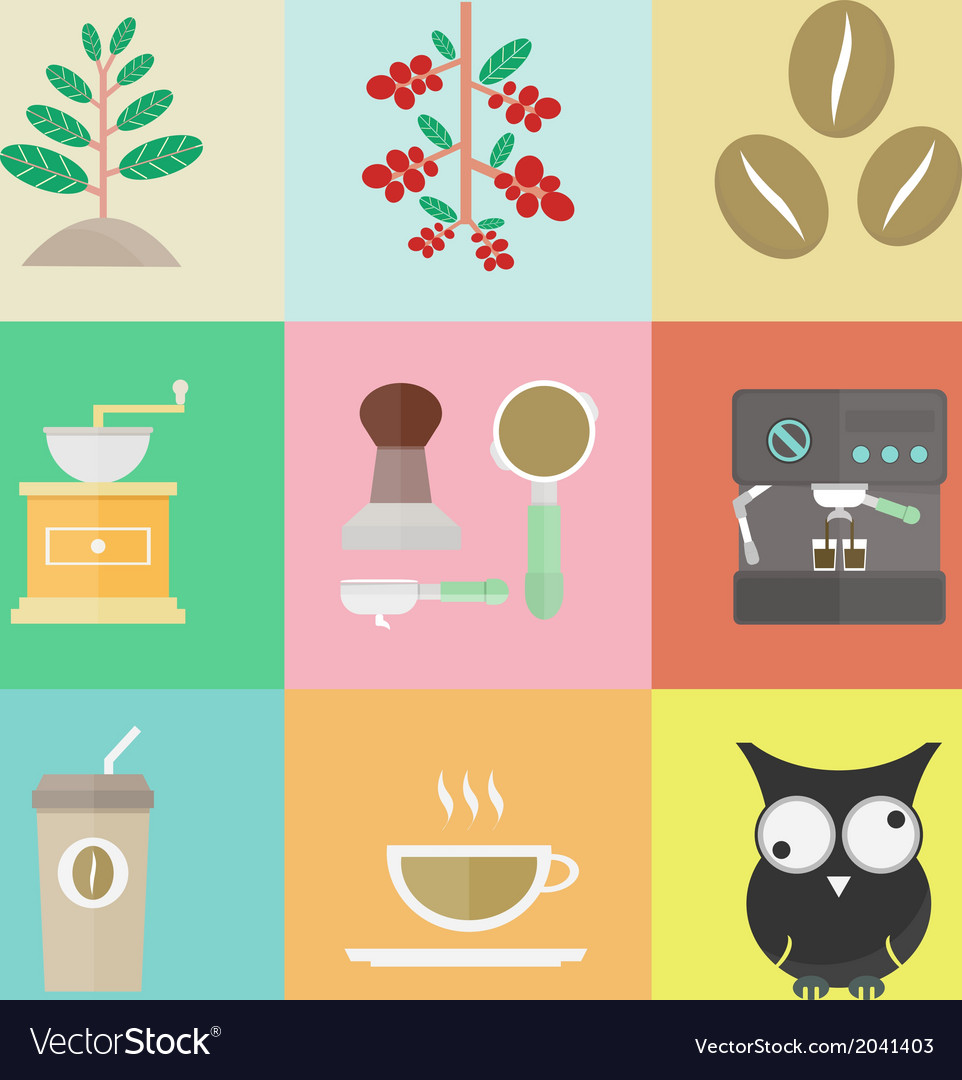 Coffeeicon vector | Price: 1 Credit (USD $1)