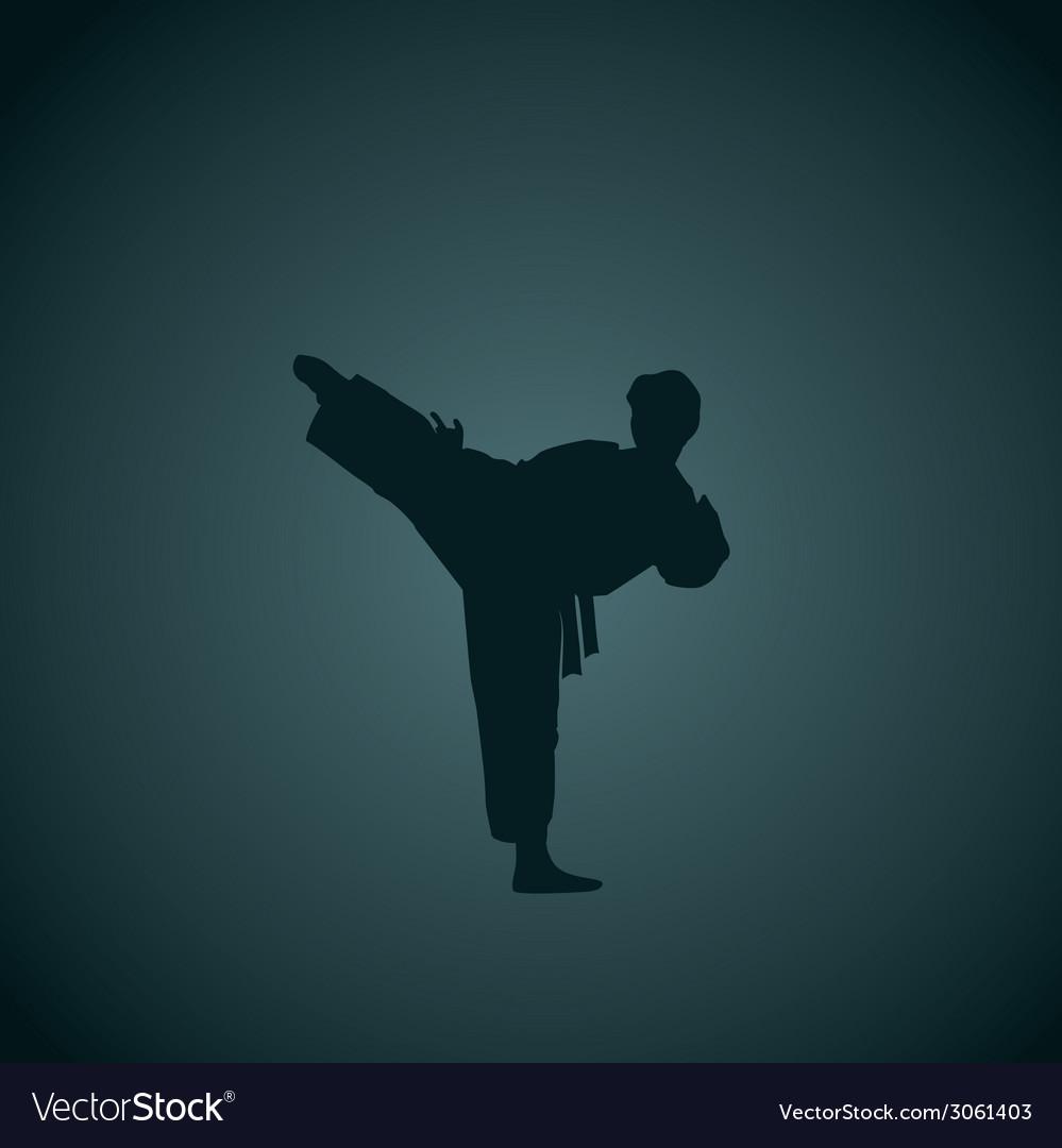 Karate vector | Price: 1 Credit (USD $1)