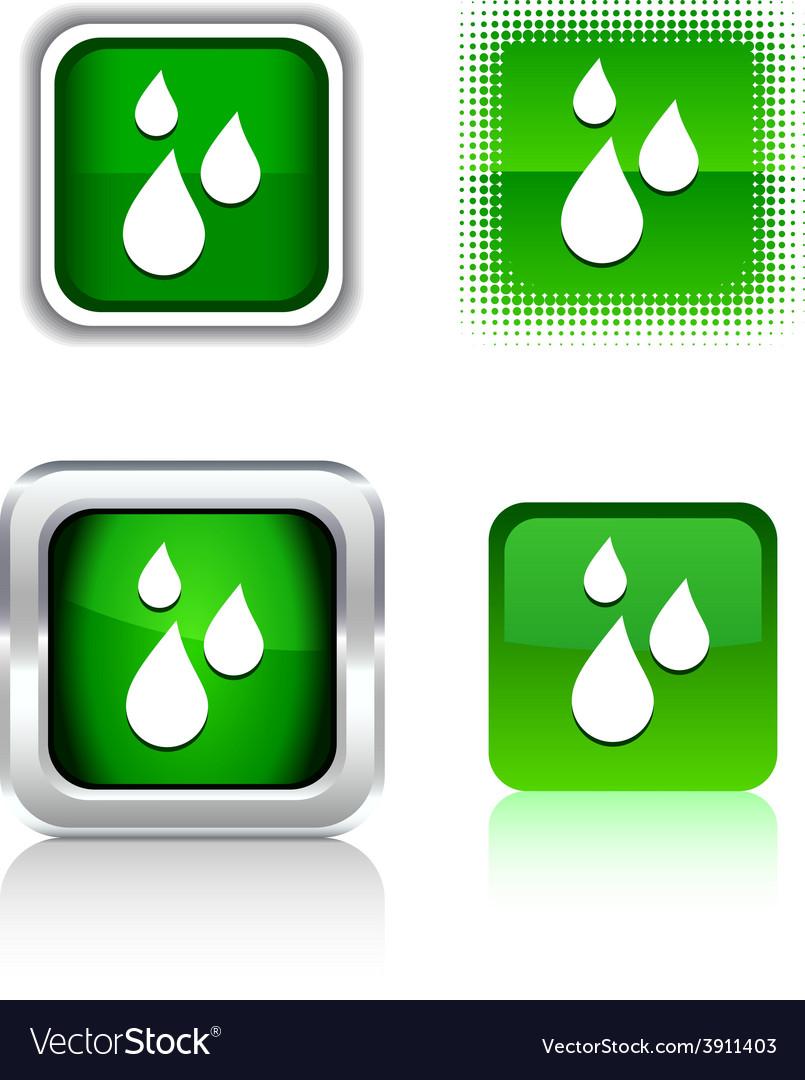 Rain icons vector | Price: 1 Credit (USD $1)