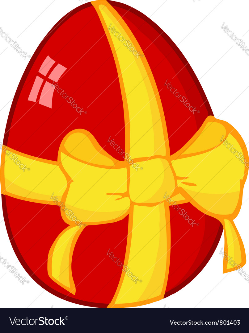 Red easter egg vector   Price: 1 Credit (USD $1)