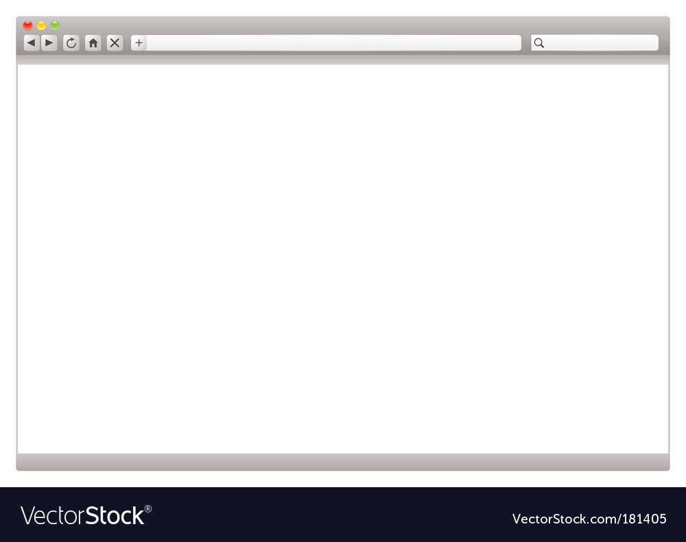 Internet web browser vector   Price: 1 Credit (USD $1)