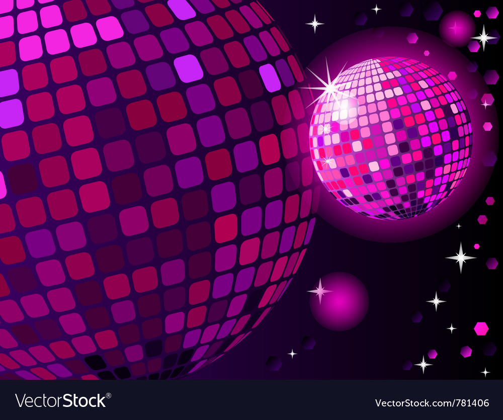 Celebratory disco ball vector | Price: 1 Credit (USD $1)