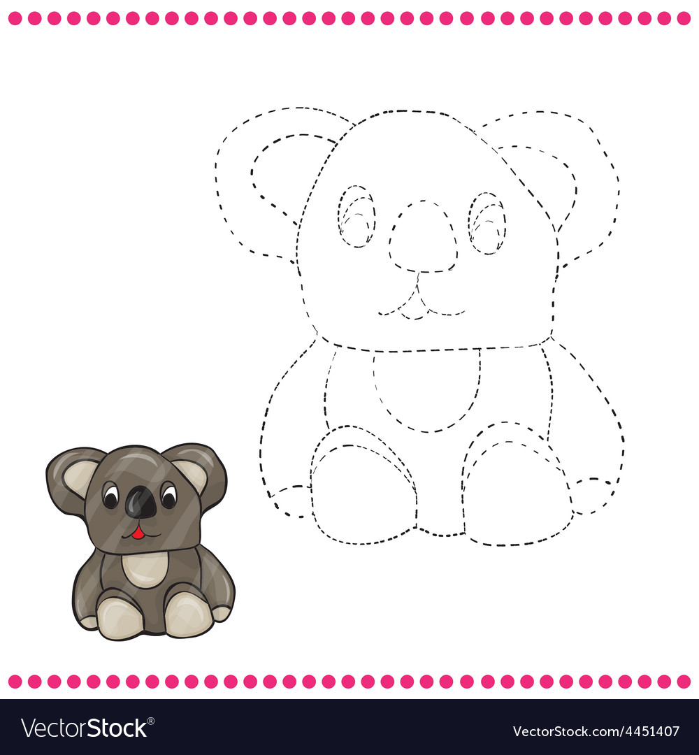 Connect the dots and coloring page vector   Price: 1 Credit (USD $1)