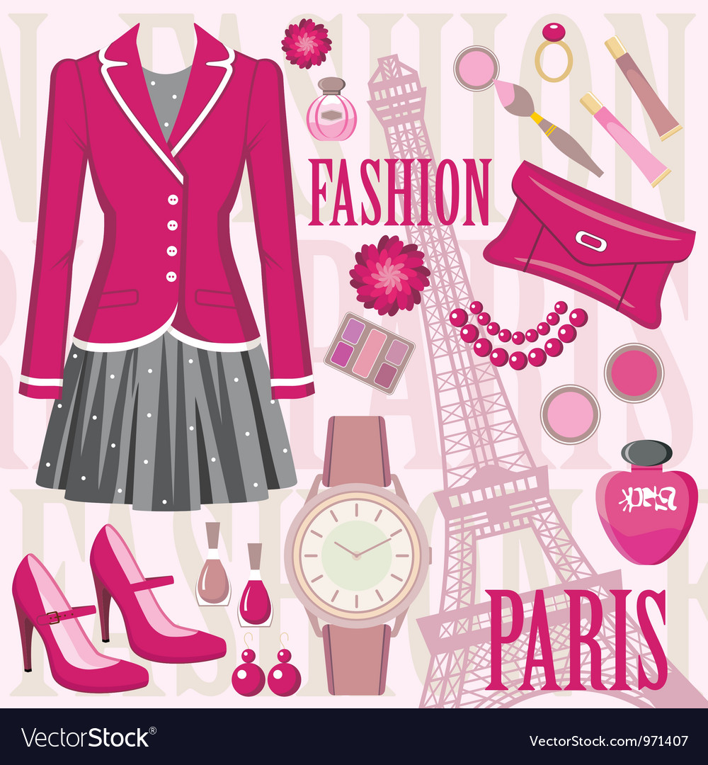 Fashion set vector | Price: 1 Credit (USD $1)