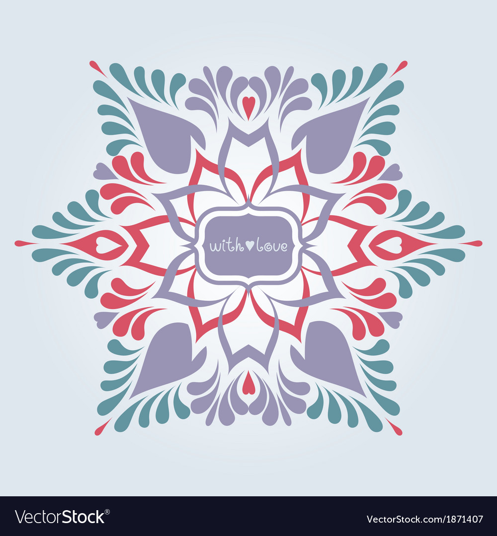 Soft ornate background vector | Price: 1 Credit (USD $1)