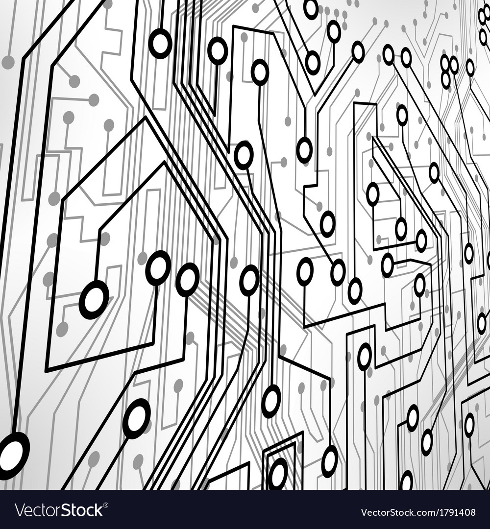 Circuit board vector | Price: 1 Credit (USD $1)