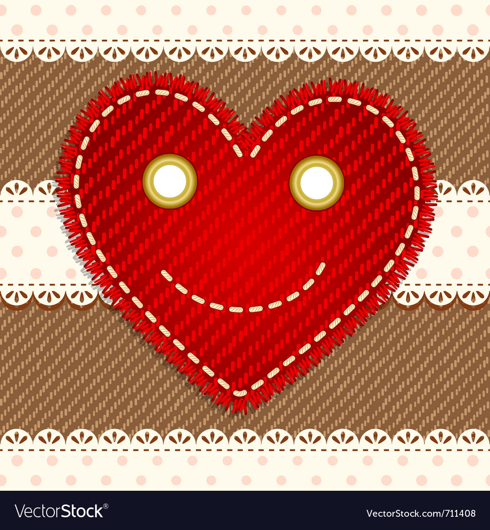 Cute smiling heart vector | Price: 1 Credit (USD $1)