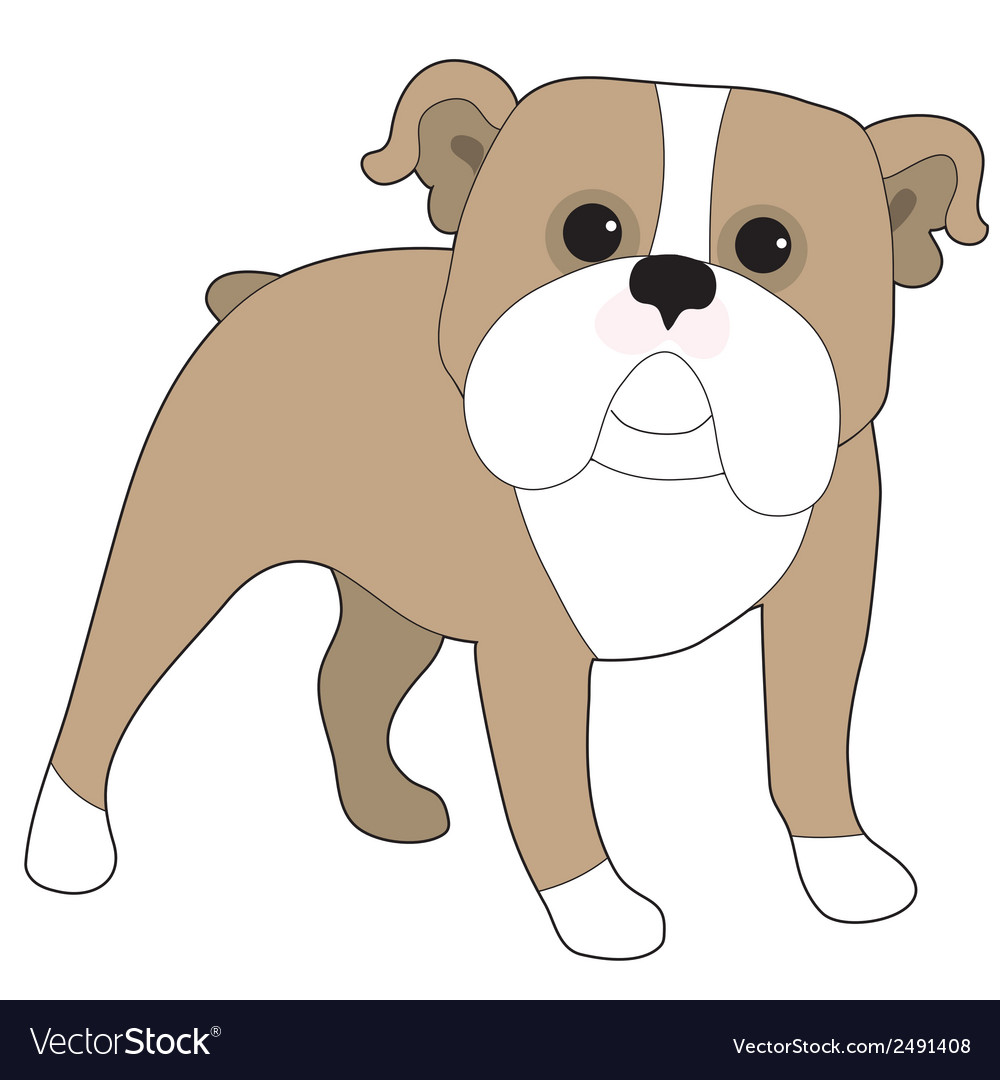 English bulldog vector | Price: 1 Credit (USD $1)