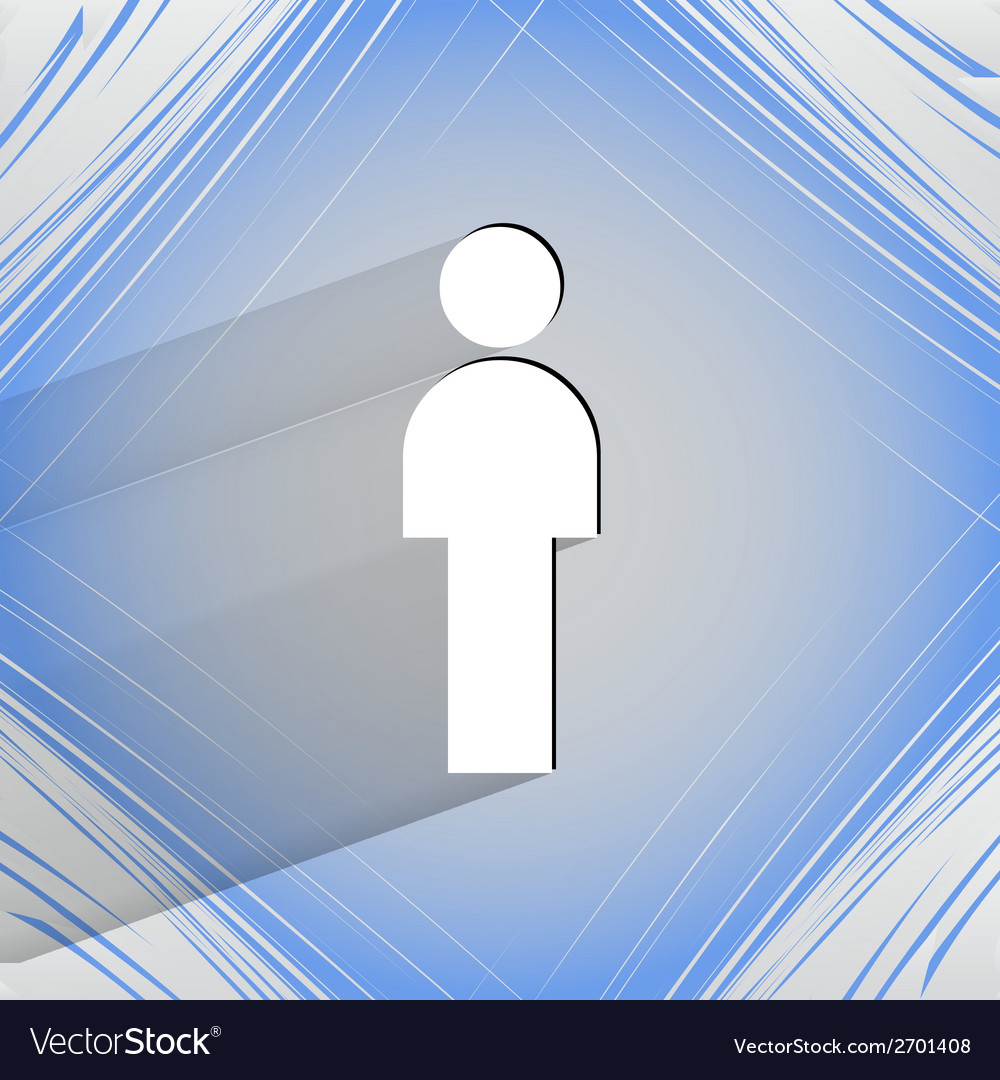 Man restroom flat modern web design on a flat vector | Price: 1 Credit (USD $1)