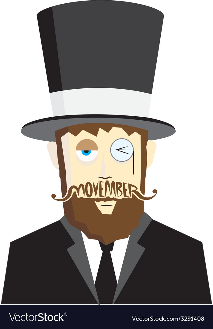 Movember design 2 vector | Price: 1 Credit (USD $1)