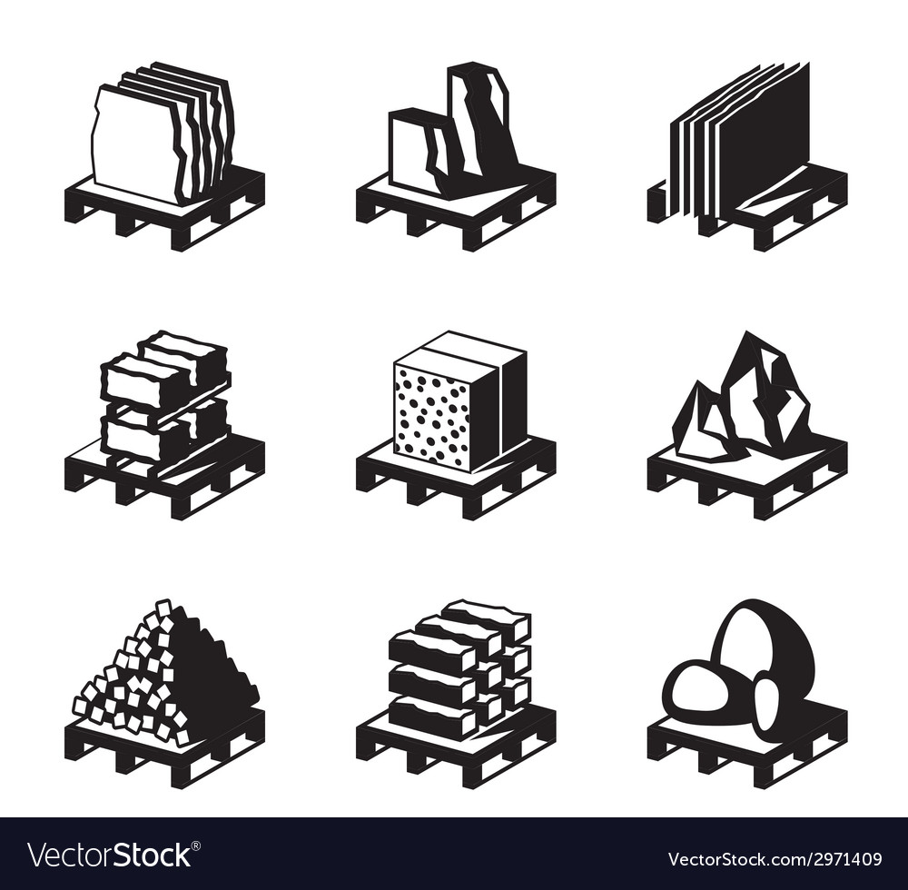 Various construction and building materials vector | Price: 1 Credit (USD $1)