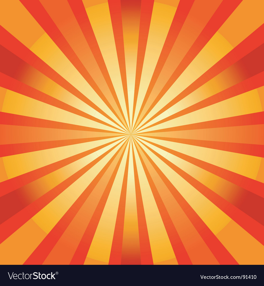 Abstract background with sunburst vector | Price: 1 Credit (USD $1)