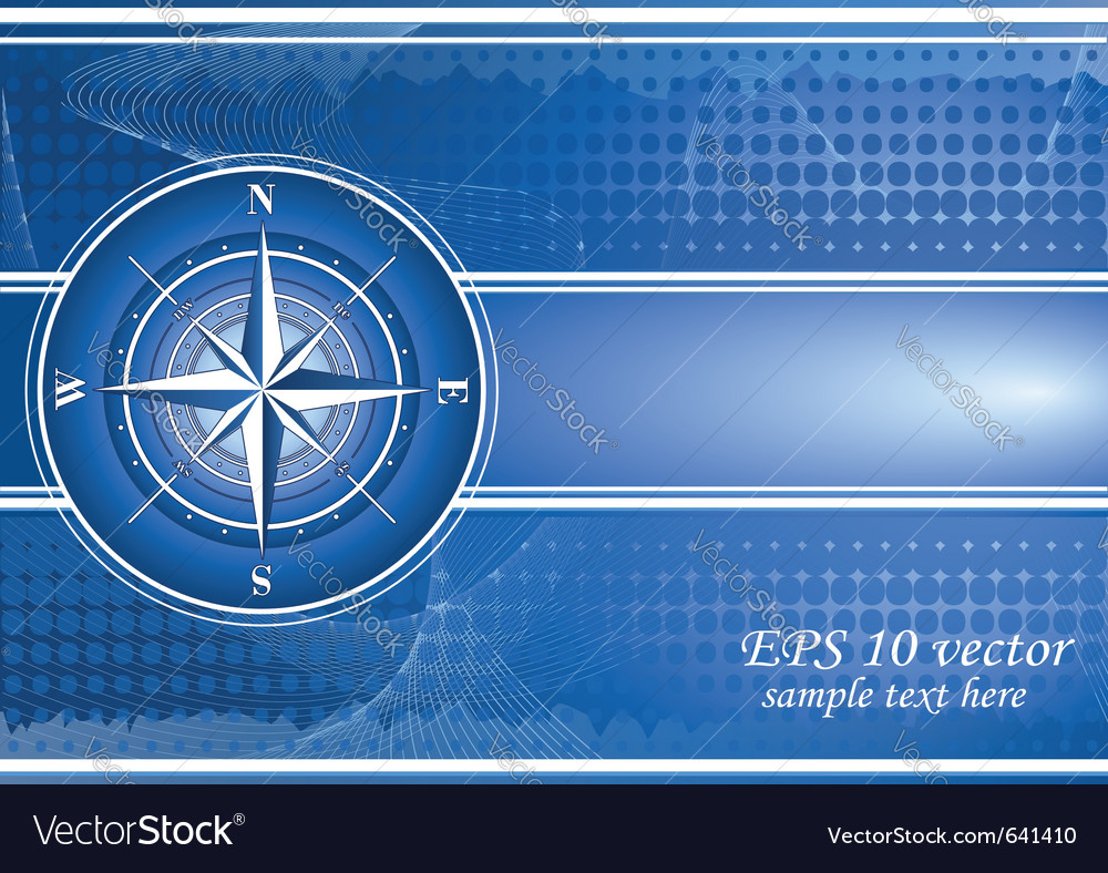 Compass background vector | Price: 1 Credit (USD $1)