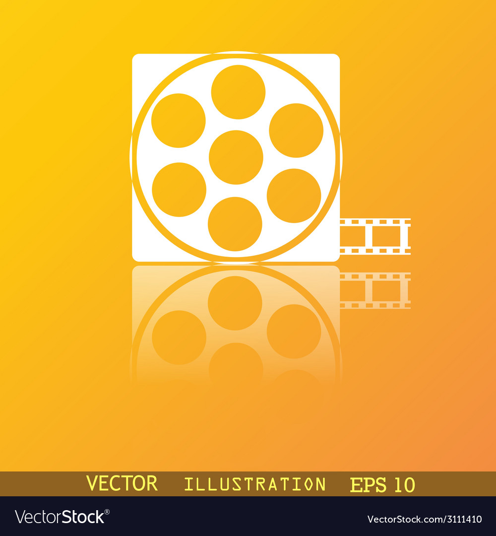 Video icon symbol flat modern web design with vector | Price: 1 Credit (USD $1)