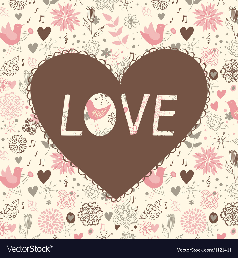 Love background vector   Price: 1 Credit (USD $1)
