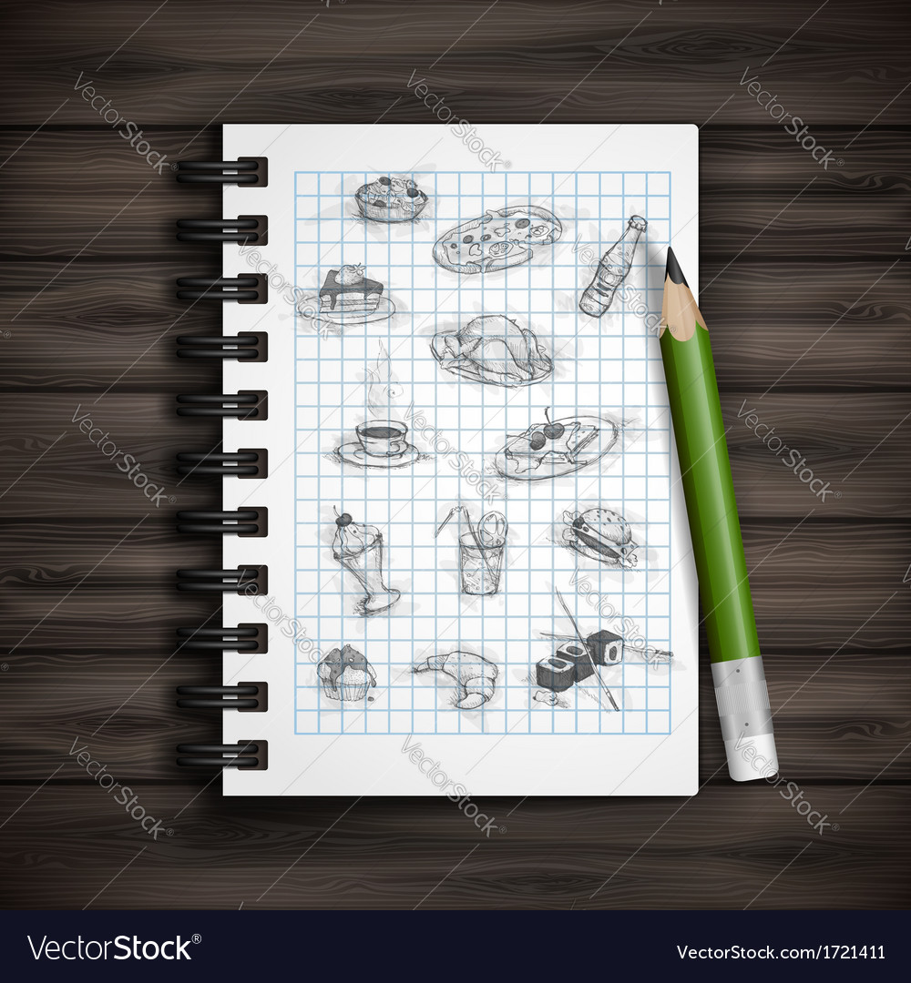 Set of hand drawn various elements vector | Price: 1 Credit (USD $1)