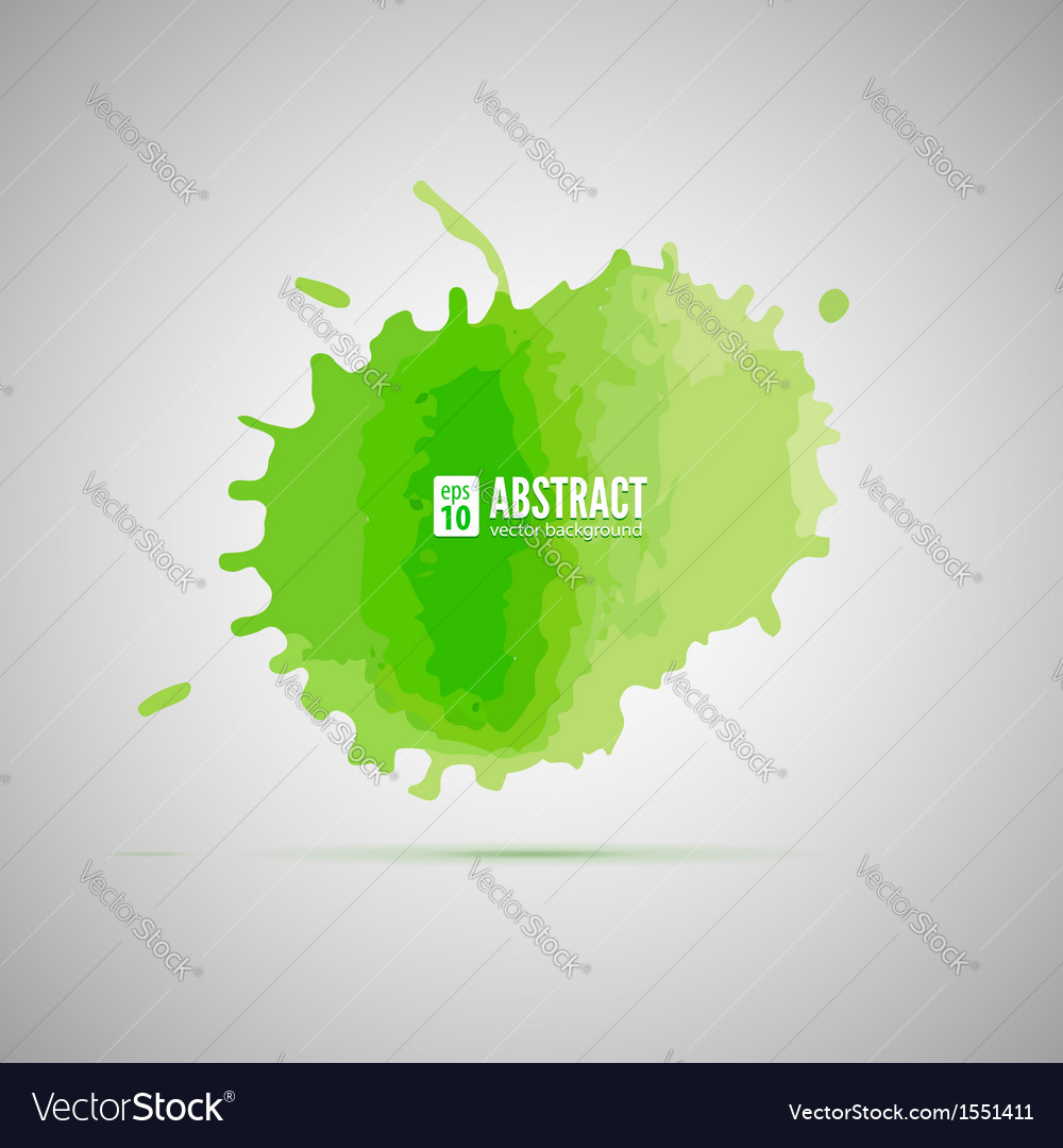 Watercolor background abstract shape vector | Price: 1 Credit (USD $1)