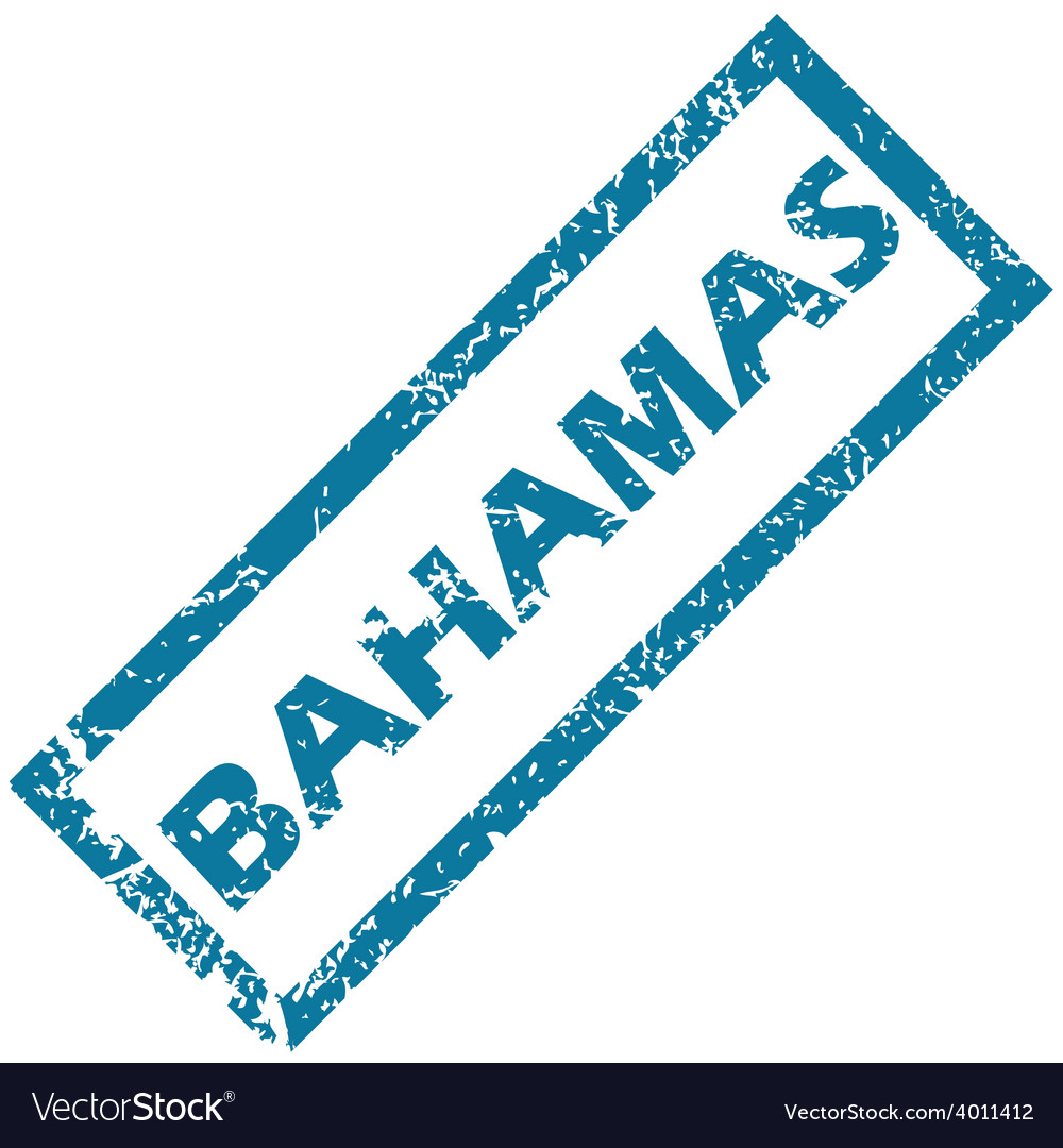 Bahamas rubber stamp vector | Price: 1 Credit (USD $1)