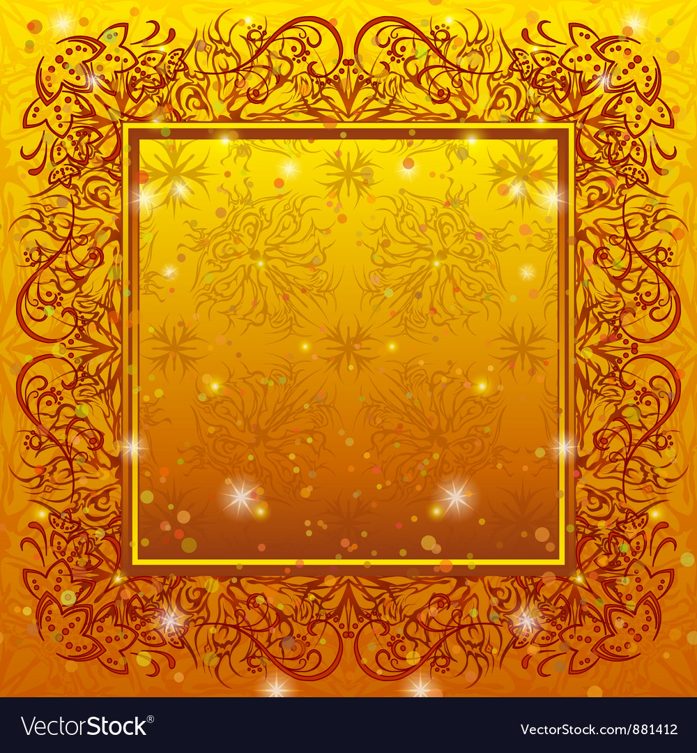 Golden holiday background vector | Price: 1 Credit (USD $1)