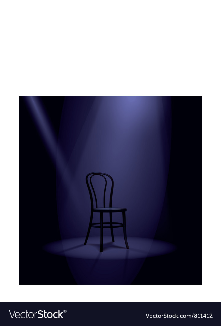 Stage in spotlights vector | Price: 3 Credit (USD $3)