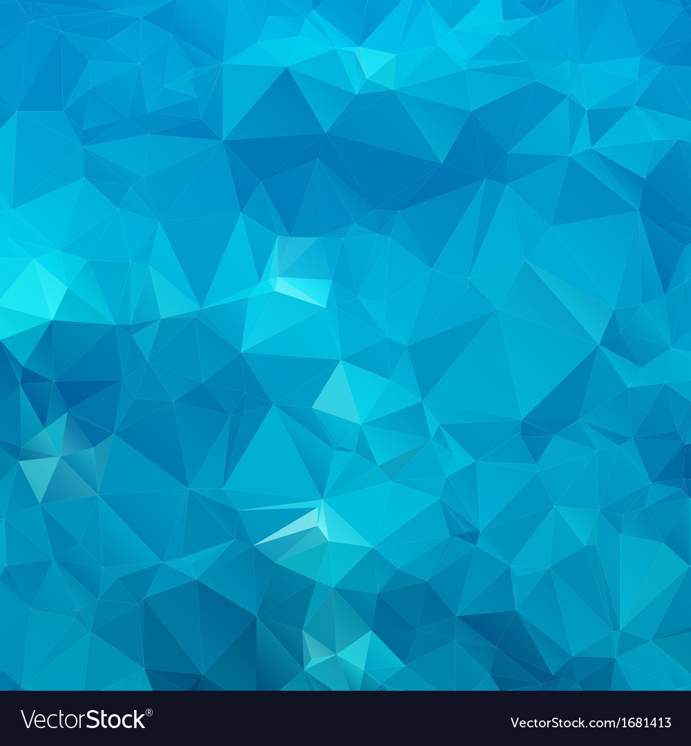Abstract blue background polygon vector | Price: 1 Credit (USD $1)