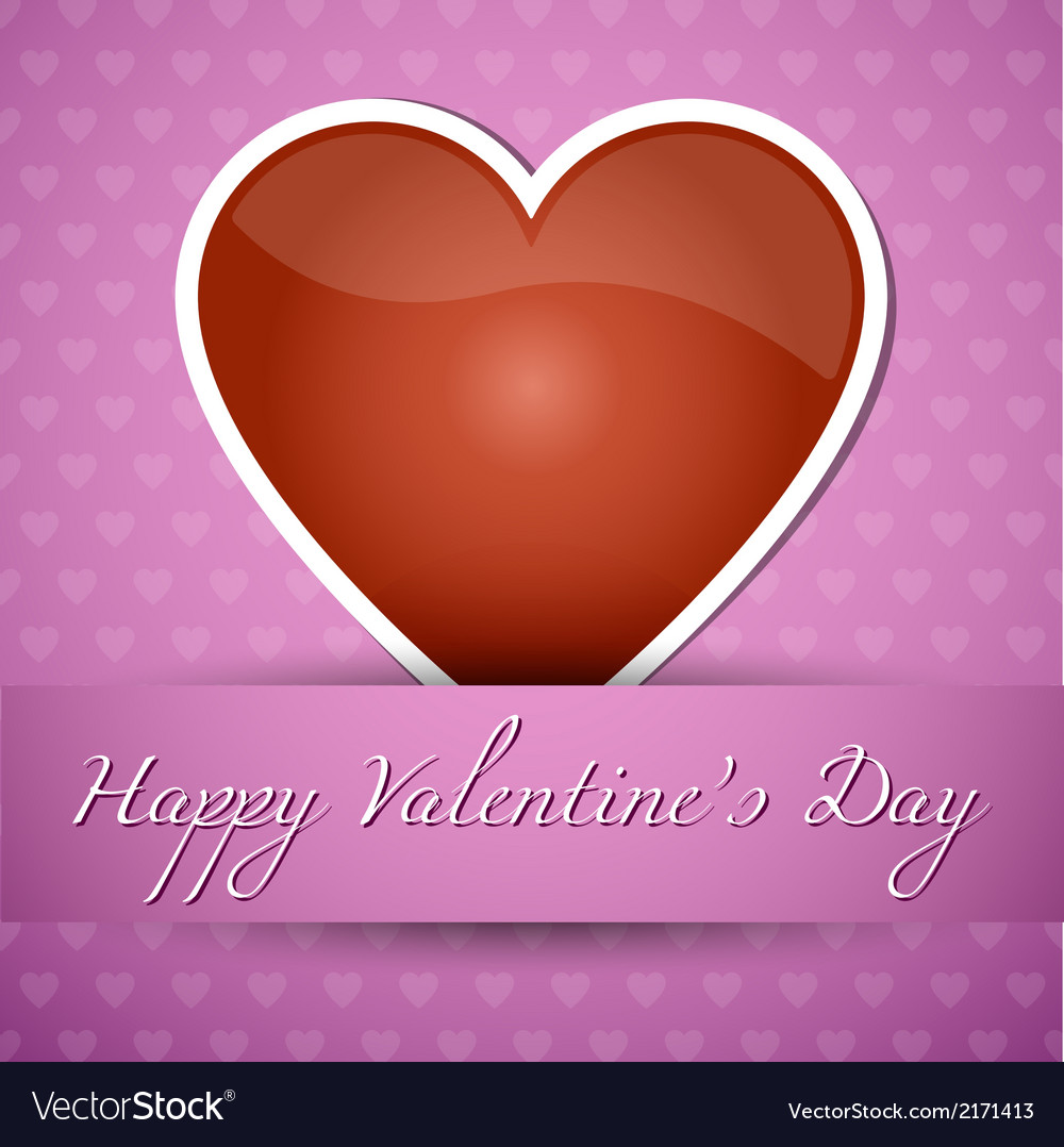 Happy valentiness day vector | Price: 1 Credit (USD $1)