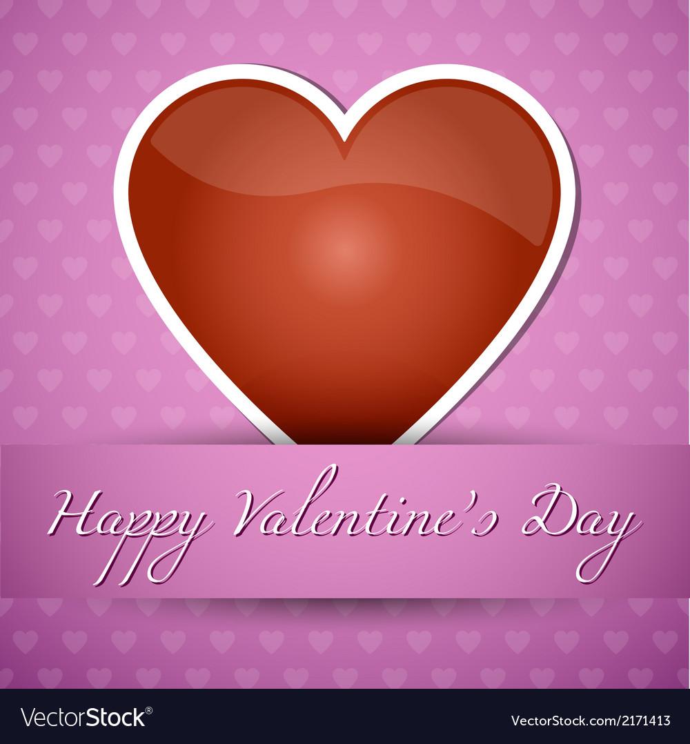 Happy valentiness day vector | Price: 1 Credit (USD $1)