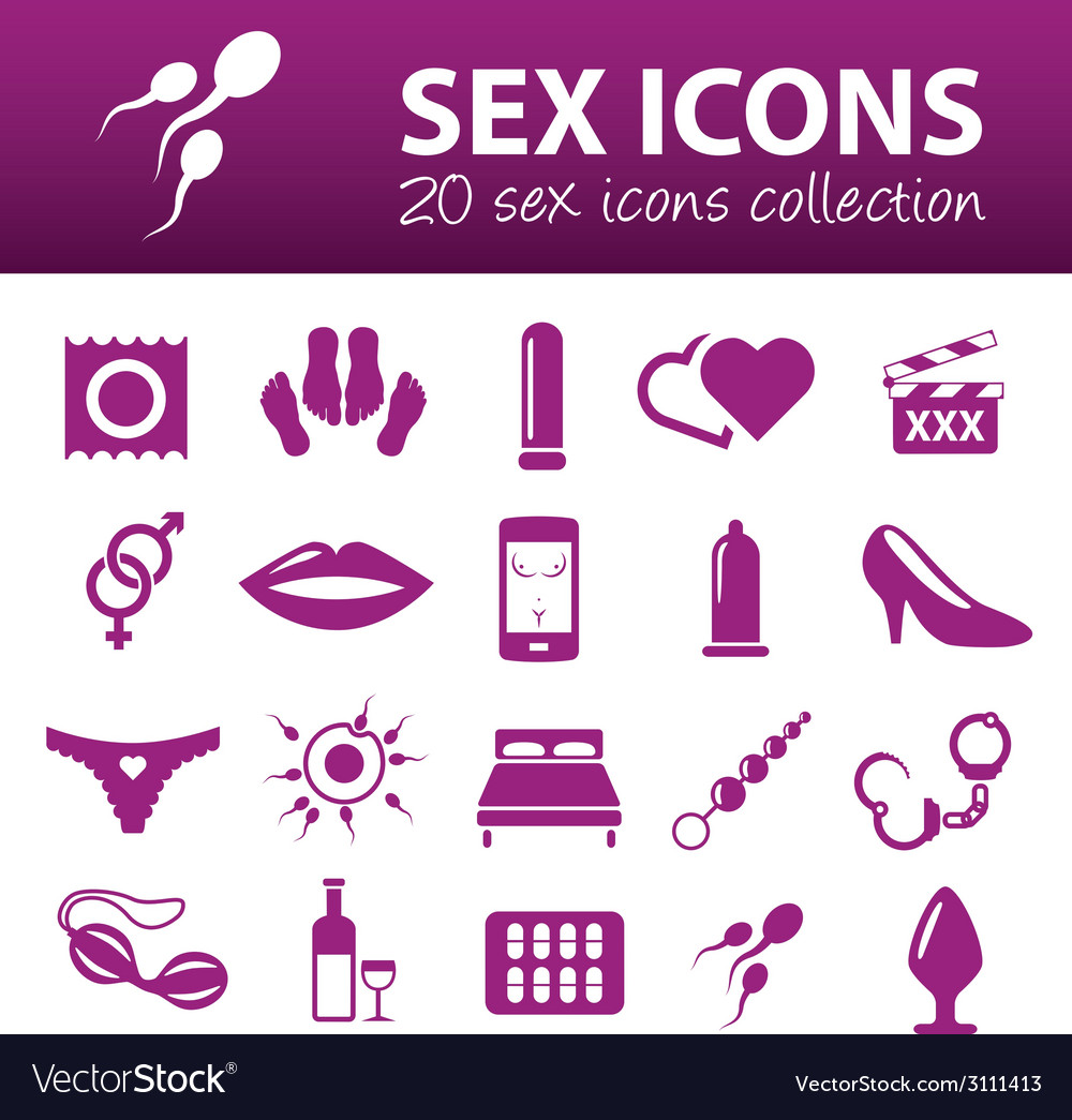 Sex icons vector | Price: 1 Credit (USD $1)