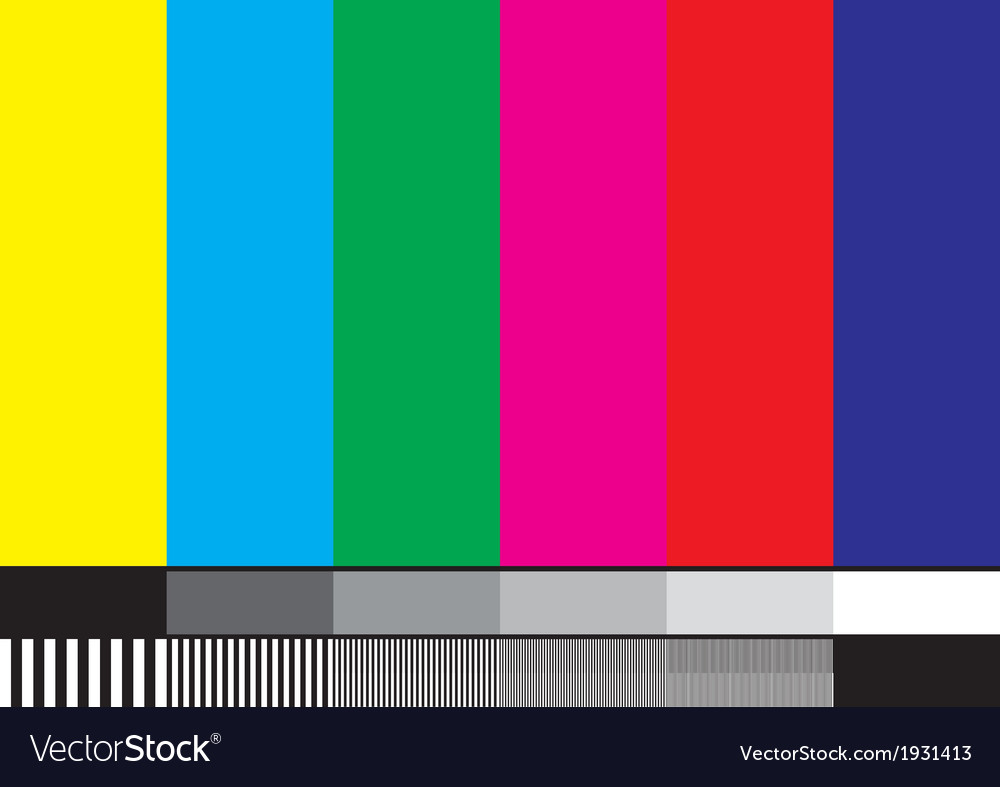 Tv pattern vector | Price: 1 Credit (USD $1)