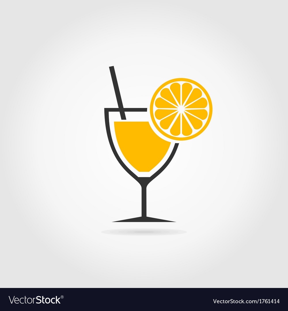 Alcoholic cocktail2 vector | Price: 1 Credit (USD $1)